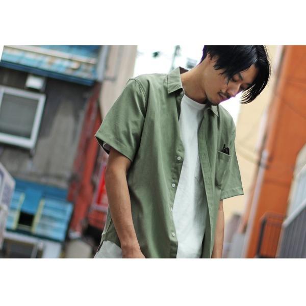 シャツ メンズ カジュアルシャツ リネンシャツ 麻 半袖シャツ 七分袖シャツ 白シャツ 綿麻 清涼 クール ファッション ポイント消化 (19006-12yz)|zip|16