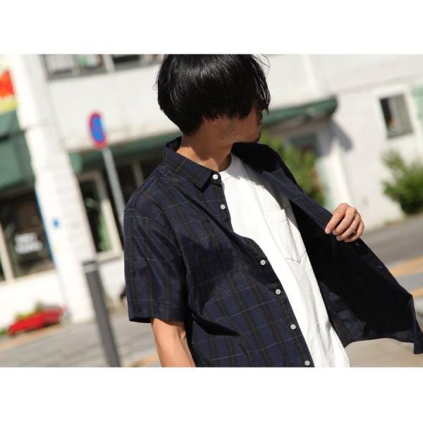 シャツ メンズ カジュアルシャツ リネンシャツ 麻 半袖シャツ 七分袖シャツ 白シャツ 綿麻 清涼 クール ファッション ポイント消化 (19006-12yz)|zip|20