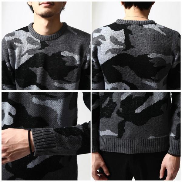 クルーネックニット メンズ クルーネック セーター ニット セーター プルオーバー ポイント消化 (42108082)|zip|04