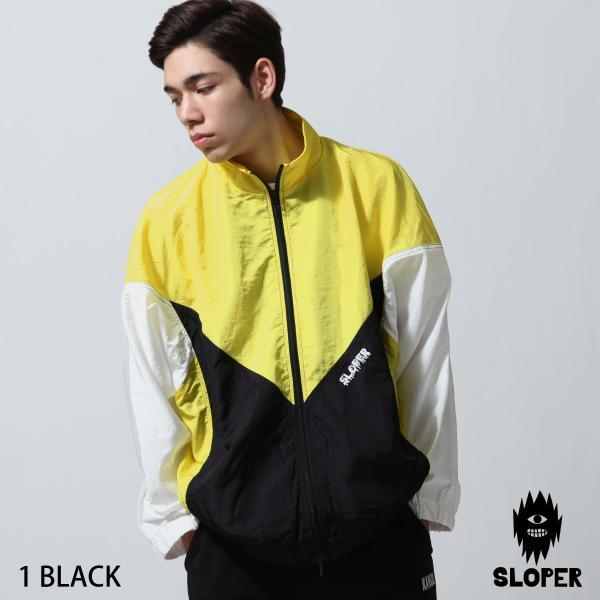 ジャケット メンズ ブルゾン ジャンパー ジャンバー 切替 スポーティ 無地 ロゴ ファッション (470206) zip