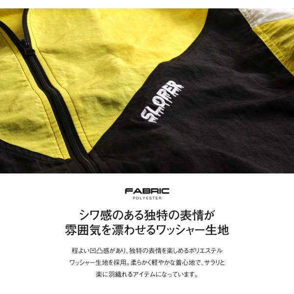 ジャケット メンズ ブルゾン ジャンパー ジャンバー 切替 スポーティ 無地 ロゴ ファッション (470206) zip 05