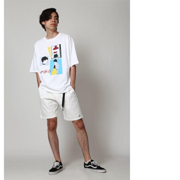 ショートパンツ メンズ ハーフパンツ クライミングパンツ デニム チノパン 短パン 無地 ワンポイント GERRY ジェリー ファッション (7558-7559)|zip|08
