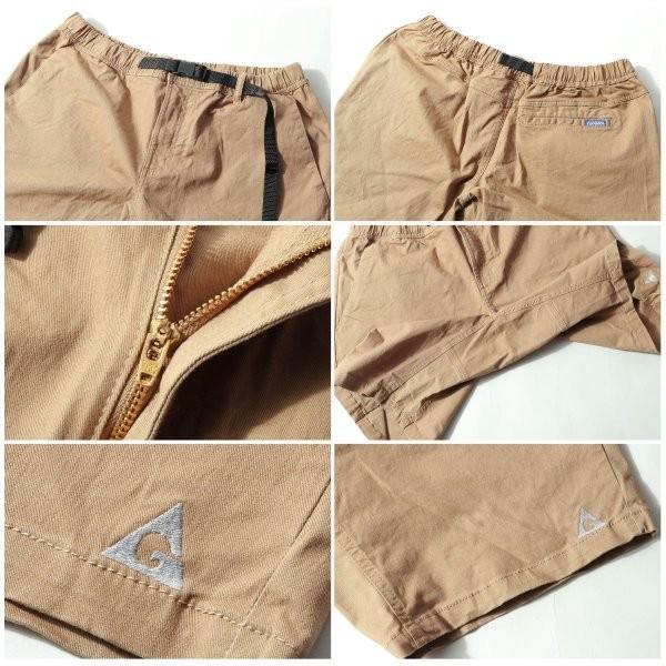 ショートパンツ メンズ ハーフパンツ クライミングパンツ デニム チノパン 短パン 無地 ワンポイント GERRY ジェリー ファッション (7558-7559)|zip|10