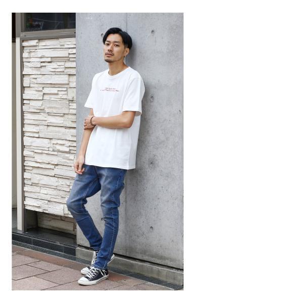 デニムパンツ メンズ ジーンズ スキニーデニム テーパードパンツ ジーパン ストレッチ サルエル ロングパンツ デニム 無地 ファッション (90-181017)|zip|15