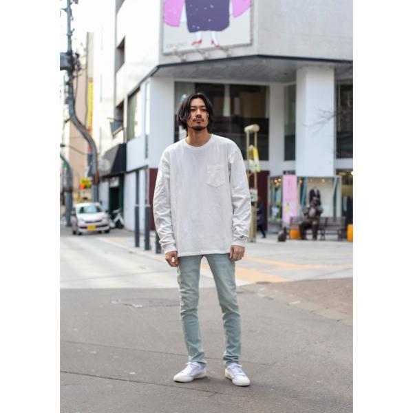 ジーンズ メンズ デニムパンツ スキニーパンツ ブランド AZ by junhashimoto ジュンハシモト ジーパン スリム ストレッチ ポイント消化 (azb-802) D|zip|09