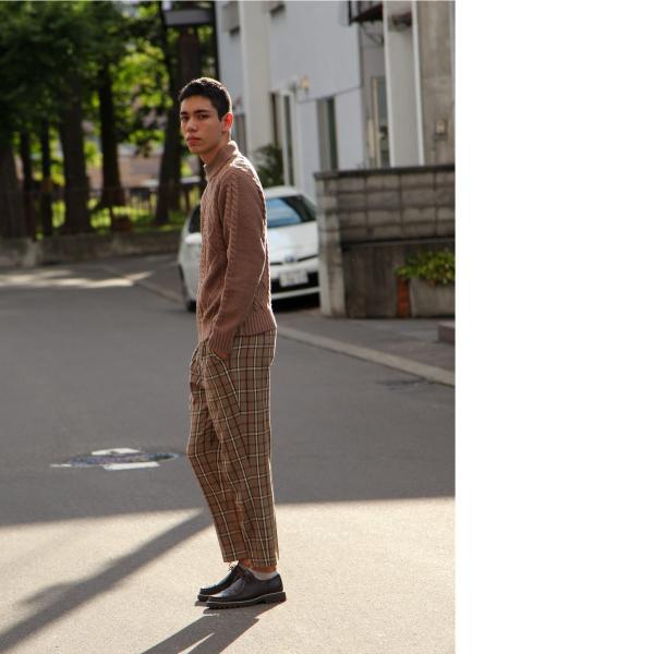セーター メンズ ニット ケーブルニット モックネック ハイネック 長袖 無地 ユニセックス ファッション (blz-1902) 2bh|zip|16
