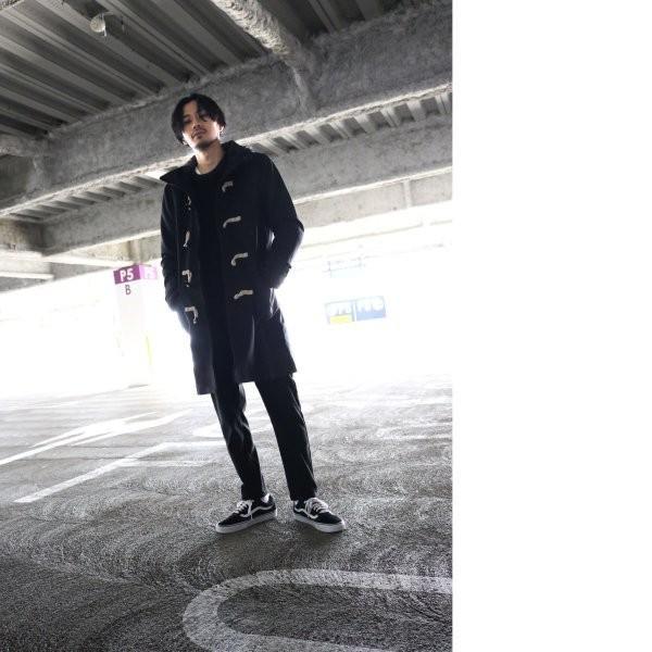 ダッフルコート メンズ コート ロングコート ロング丈 ダッフル アウター 無地 ウールコート ファッション (br1004)|zip|14