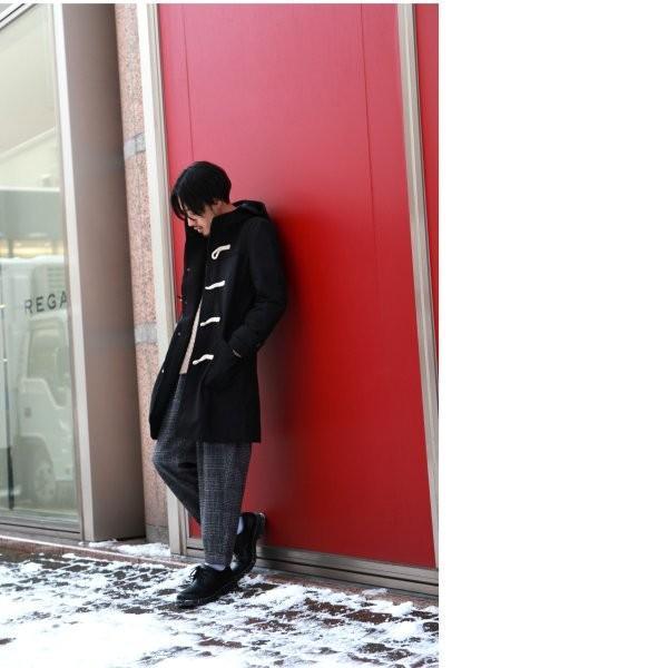 ダッフルコート メンズ コート ロングコート ロング丈 ダッフル アウター 無地 ウールコート ファッション (br1004)|zip|20