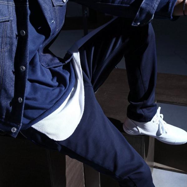 スキニーパンツ メンズ 暖パンツ 裏起毛 パンツ フリース ストレッチ スリムパンツ スキニー ファッション (br6073)|zip|06