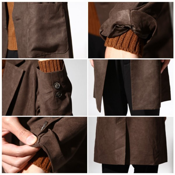 チェスターコート メンズ オーバーコート チェスターフィールド ビッグシルエット ファッション (br8025)|zip|04