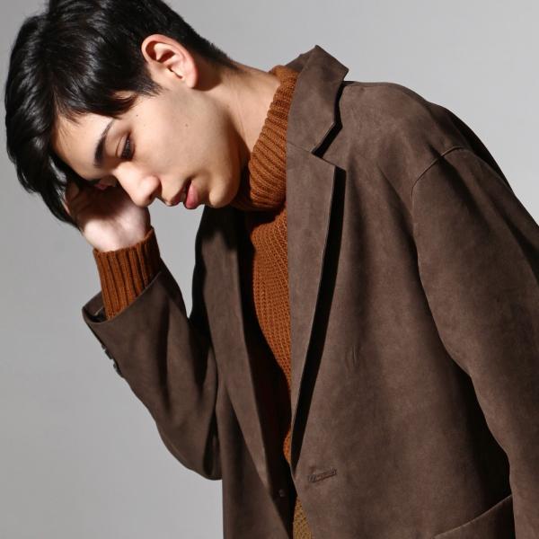 チェスターコート メンズ オーバーコート チェスターフィールド ビッグシルエット ファッション (br8025)|zip|06