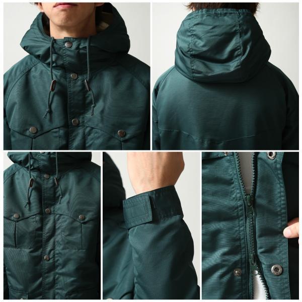 マウンテンパーカー メンズ マンパー パーカー ジャケット ブルゾン 撥水 ボア 暖か 無地 カモフラ 迷彩 ファッション (br8031) zip 03