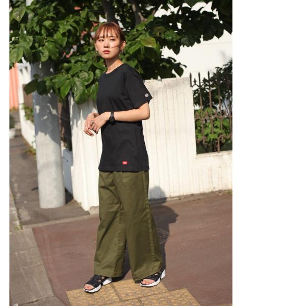 Tシャツ メンズ Tee カットソー 半袖 ワッペン ロゴ シンプル ワンポイント Dickies ディッキーズ 大きいサイズ ビッグ ファッション ポイント消化 (dk006380) D|zip|17