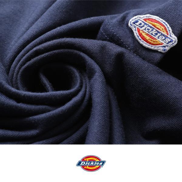 Tシャツ メンズ Tee カットソー 半袖 ワッペン ロゴ シンプル ワンポイント Dickies ディッキーズ 大きいサイズ ビッグ ファッション ポイント消化 (dk006380) D|zip|06