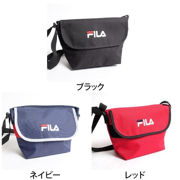 ショルダーバッグ メンズ ショルダーバッグ 肩掛け バック ポーチ 鞄 かばん FILA フィラ スポーティ ファッション (fm2063)|zip|02