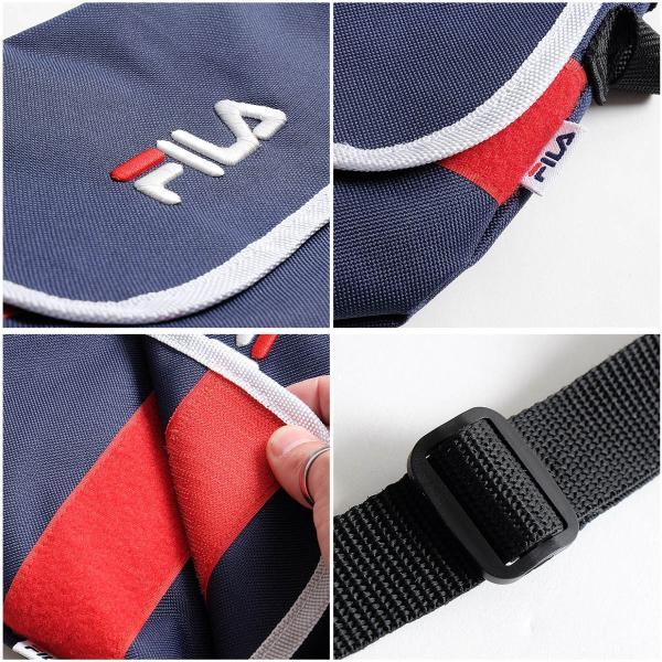 ショルダーバッグ メンズ ショルダーバッグ 肩掛け バック ポーチ 鞄 かばん FILA フィラ スポーティ ファッション (fm2063)|zip|03