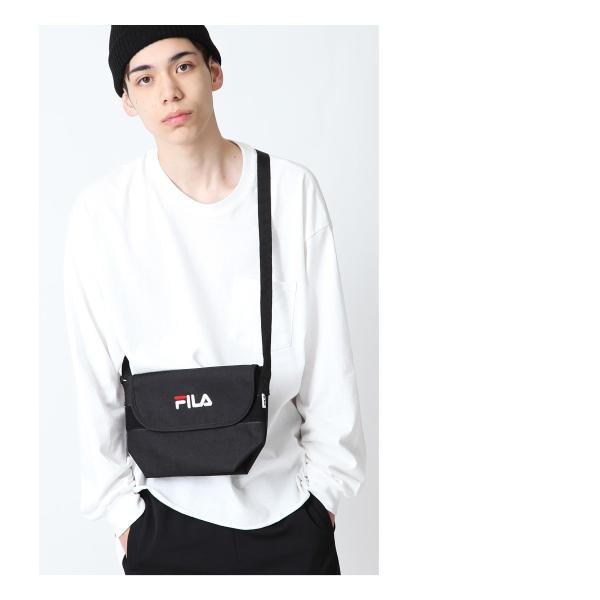 ショルダーバッグ メンズ ショルダーバッグ 肩掛け バック ポーチ 鞄 かばん FILA フィラ スポーティ ファッション (fm2063)|zip|07