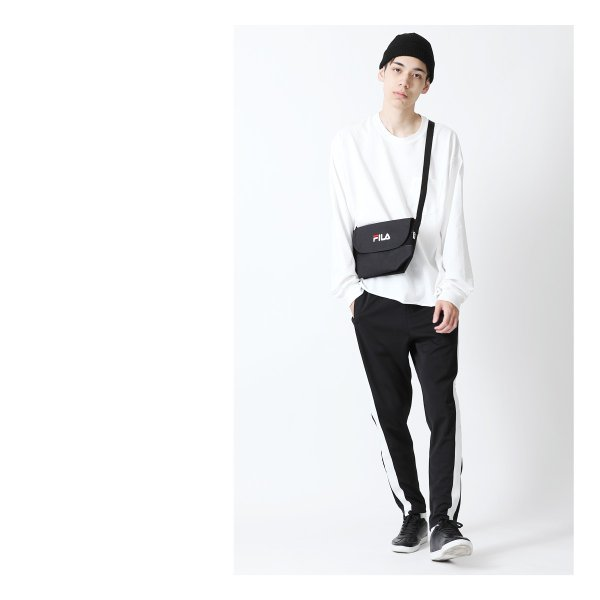 ショルダーバッグ メンズ ショルダーバッグ 肩掛け バック ポーチ 鞄 かばん FILA フィラ スポーティ ファッション (fm2063)|zip|08