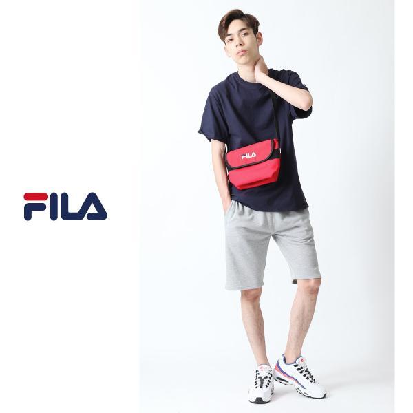 ショルダーバッグ メンズ ショルダーバッグ 肩掛け バック ポーチ 鞄 かばん FILA フィラ スポーティ ファッション (fm2063)|zip|10