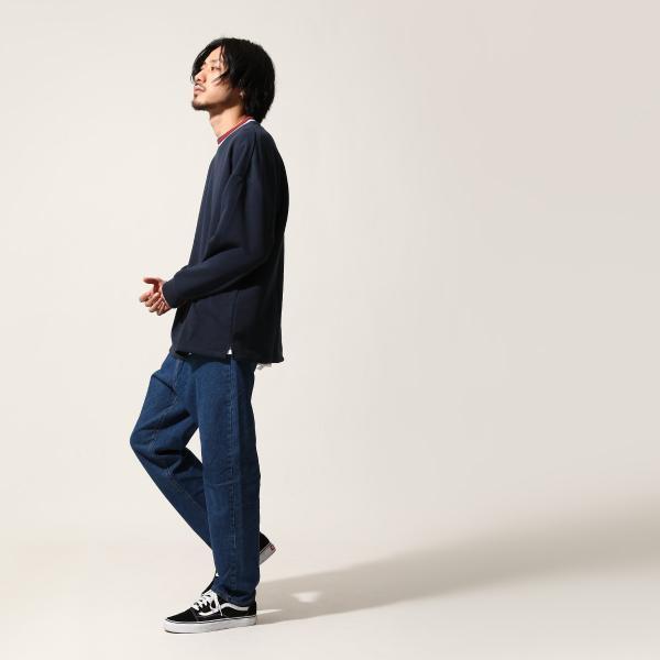トレーナー メンズ スウェット クルーネック 裏起毛 ロゴ刺繍 リンガー 無地 KANGOL スエット ファッション (kgsa-zi1812)|zip|10