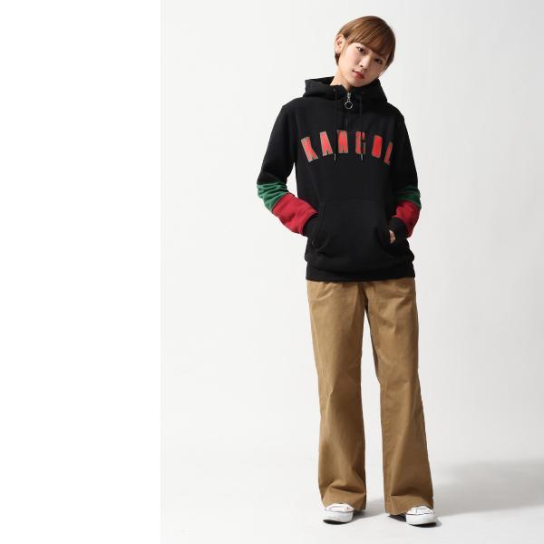 プルオーバーパーカー メンズ パーカー プルオーバー 長袖 裏起毛 ハーフジップ カンゴール KANGOL ファッション (kgsa-zi1814)|zip|19