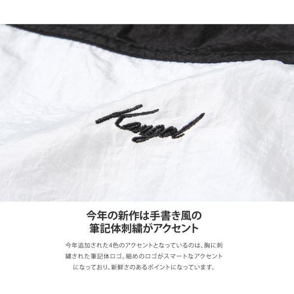 ナイロンジャケット メンズ ブルゾン ナイロン 刺繍 ワンポイント ビッグシルエット ジップアップ KANGOL カンゴール ファッション (kgsa-zi1822) D|zip|04