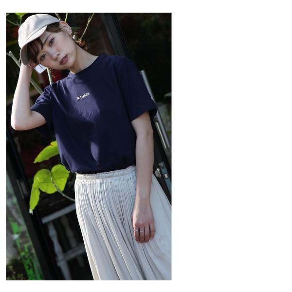 Tシャツ メンズ KANGOL ブランド カットソー シンプル 半袖 クルーネック コットン 刺繍 ロゴ 袖ワッペン カンゴール ファッション (kgsa-zi1908) D|zip|11