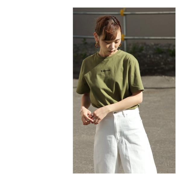 Tシャツ メンズ KANGOL ブランド カットソー シンプル 半袖 クルーネック コットン 刺繍 ロゴ 袖ワッペン カンゴール ファッション (kgsa-zi1908) D|zip|12