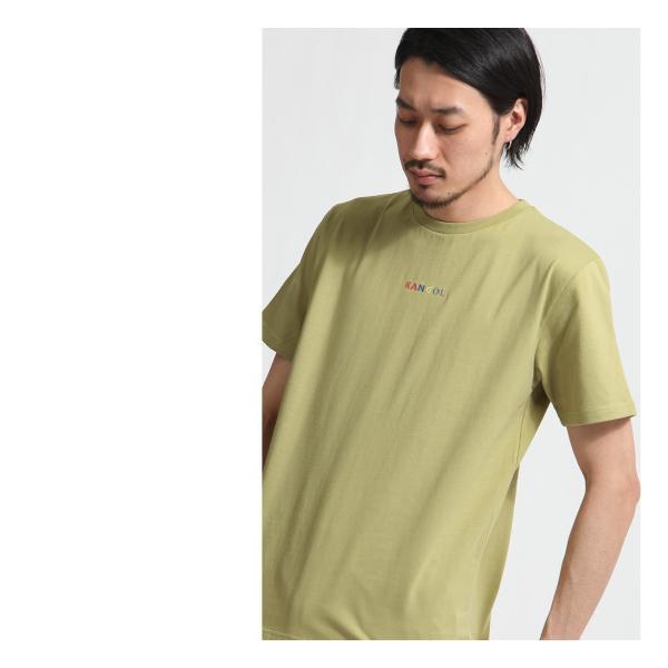 Tシャツ メンズ KANGOL ブランド カットソー シンプル 半袖 クルーネック コットン 刺繍 ロゴ 袖ワッペン カンゴール ファッション (kgsa-zi1908) D|zip|15