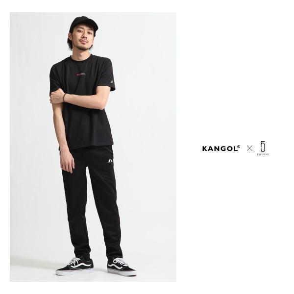 Tシャツ メンズ KANGOL ブランド カットソー シンプル 半袖 クルーネック コットン 刺繍 ロゴ 袖ワッペン カンゴール ファッション (kgsa-zi1908) D|zip|17