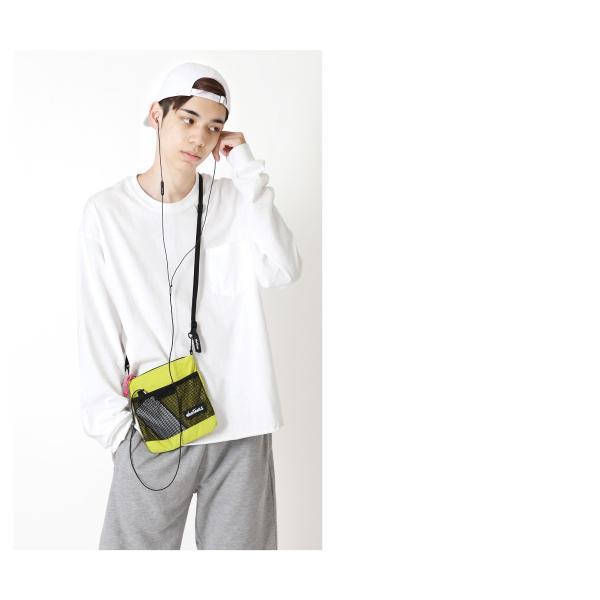 バッグ メンズ サコッシュ ショルダーバッグ 鞄 無地 ミニバッグ 小物 ファッション (wt-380-0082)|zip|10