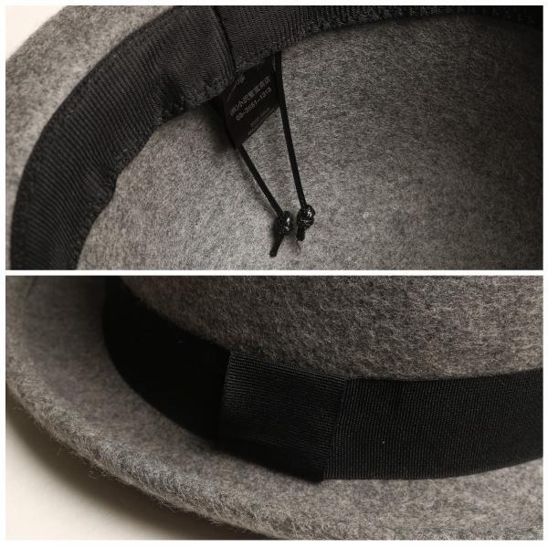 ハット メンズ 帽子 山高帽 ウールハット ダービーハット フェルトハット 無地 シンプル ファッション (zo-0025)|zip|03
