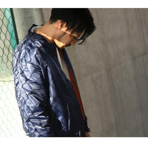 MA-1 メンズ ミリタリージャケット フライトジャケット 中綿ジャケット ma1 無地 カモフラ 秋冬 新作 2018 ファッション (zp317513) D|zip|11