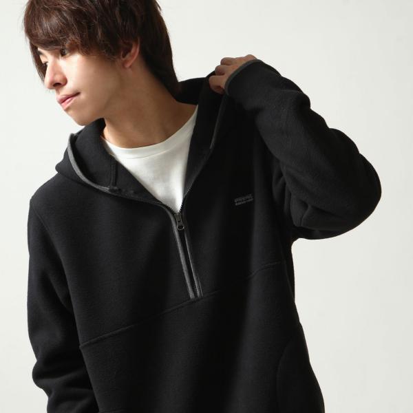フリースジャケット メンズ パーカー ジップアップ ハーフジップ フリース 長袖 無地 暖か 新作 ファッション ポイント消化 (zp317520)|zip|06