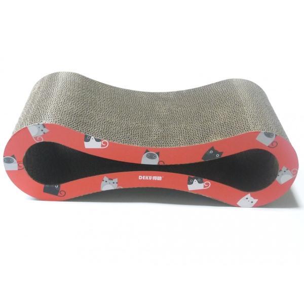 猫 爪とぎ 段ボール ベッド 高密度 トンネル ダンボール ...