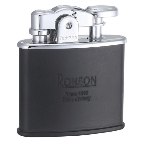 RONSON ロンソン スタンダード R02-1028 黒マット フリントオイルライター