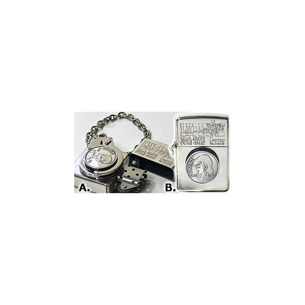ルパン3世「手錠シリーズ」 A.ルパン柄ジッポー ZIPPOライター ジッポライター