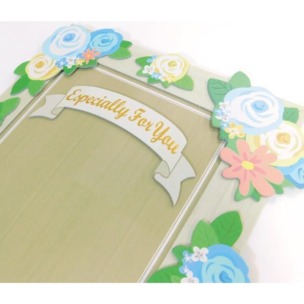 ウェルカムボードの寄せ書きなどに「スタンドボード色紙」【ゼットアンドケイ】 贈り物 プレゼント ギフト|zonart-kamika|08