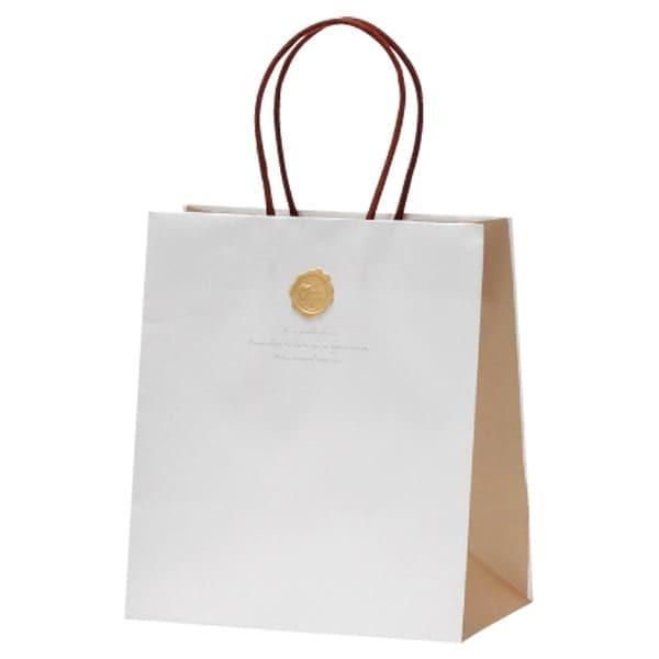 77-865 ペーパーバッグ W バレンタイン チョコ チョコレート 義理チョコ 大量 手作り キット お菓子 プレゼント ゼットアンドケイ