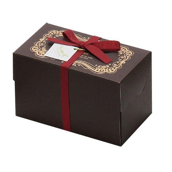 79-004 スイーツボックス ブラウン バレンタイン チョコ チョコレート 義理チョコ 大量 手作り キット お菓子 プレゼント ゼットアンドケイ