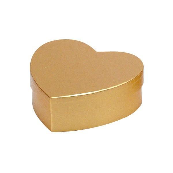 79-021 ハートボックス ゴールド バレンタイン チョコ チョコレート 義理チョコ 大量 手作り キット お菓子 プレゼント ゼットアンドケイ