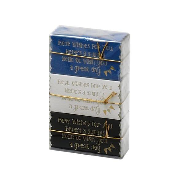 79-069 プチギフトボックス ブルー バレンタイン チョコ チョコレート 義理チョコ 大量 手作り キット お菓子 プレゼント ゼットアンドケイ