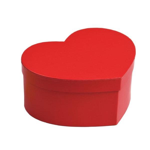 79-085 ハートボックスM レッド バレンタイン チョコ チョコレート 義理チョコ 大量 手作り キット お菓子 プレゼント ゼットアンドケイ