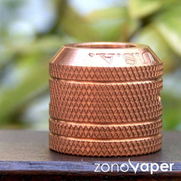 Comp Lyfe(コンプライフ) Mini Cap 24 ( Fits Kennedy 24 )Copper Knurled SIDEAIREFLOW|zonovaper