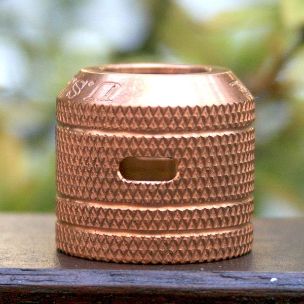 Comp Lyfe(コンプライフ) Mini Cap 24 ( Fits Kennedy 24 )Copper Knurled SIDEAIREFLOW|zonovaper|02