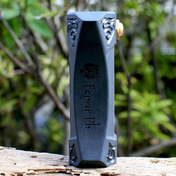 Fenrir(フェンリル) Engraving Mechanical Mod 21700(ブラック)|zonovaper|02