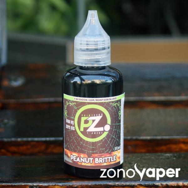 POINTZERO(ポイントゼロ) Peanutbutter(ピーナッツバター) 50ml  電子タバコ  リキッド ベイプ|zonovaper