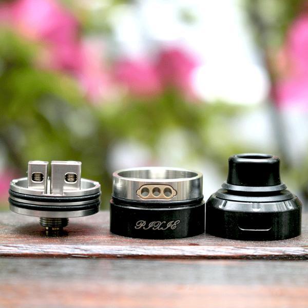 Vapefly (ベイプフライ) PIXIE (ピクシー)RDA 22mm Black|zonovaper|05