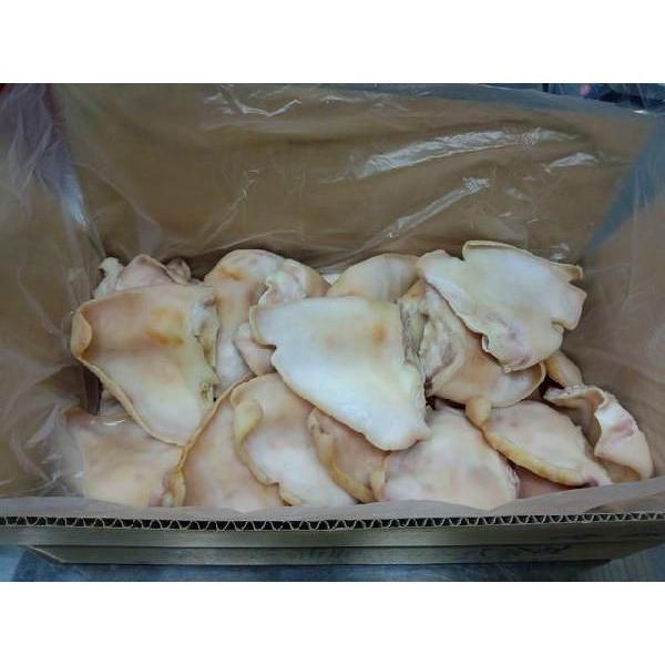 芝浦市場直送!【国産】豚耳・生冷凍(5kg箱詰め) ※加熱用