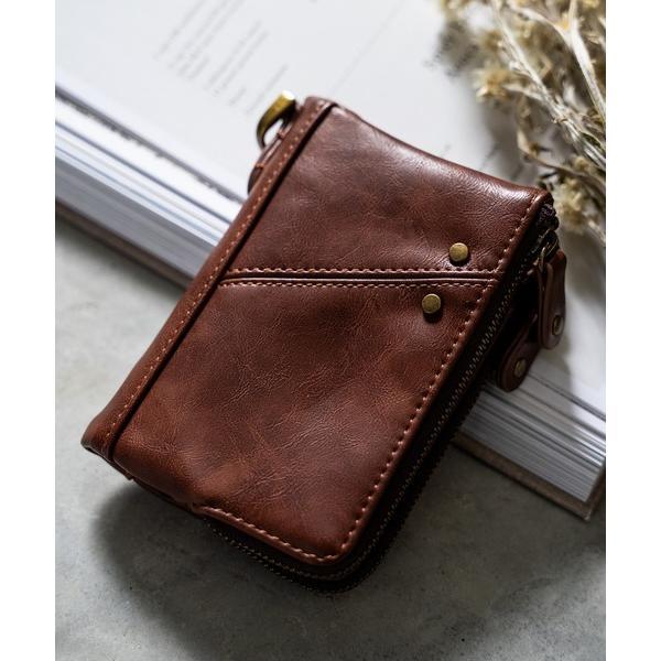 財布■ ブラック追加■ Control/コントロール crass折財布二つ折りミニ財布ミニウォレット